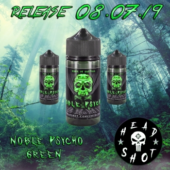 NOBLE PSYCHO GREEN 100ML.